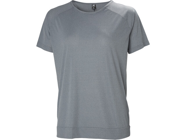 Helly Hansen HP Racing Camiseta Mujer, grey melange